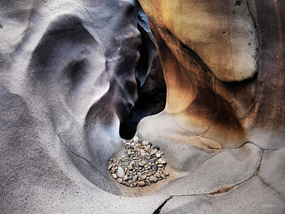 Photograph - Black Magic Canyon 5 by Leland D Howard