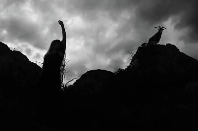 Photograph - Black Magic by Zapista Zapista