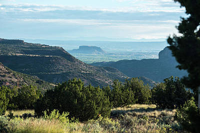 Photograph - Black Mesa Morning Haze by Tom Cochran