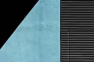 Photograph - Black On Blue by Stuart Allen