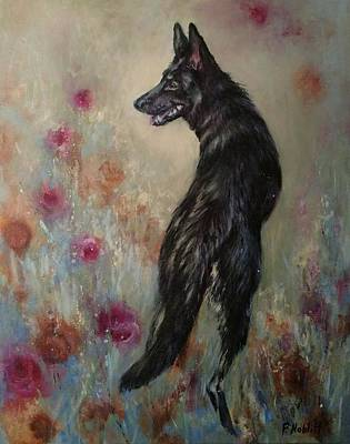 Wall Art - Painting - Black Rescue by Paula Noblitt