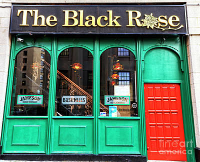 Photograph - Black Rose Of Boston by John Rizzuto