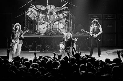 Photograph - Black Sabbath Live In Southampton by Fin Costello