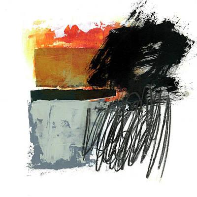 Black Scribble #2 Original