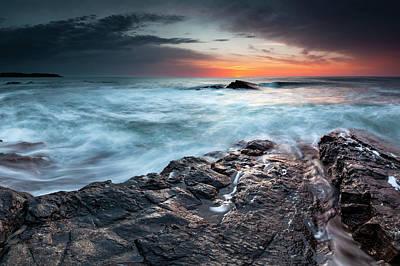 Photograph - Black Sea Rocks by Evgeni Dinev