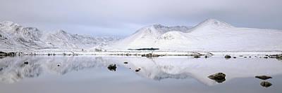 Photograph - Blackmount Winter Sunrise - Glencoe by Grant Glendinning