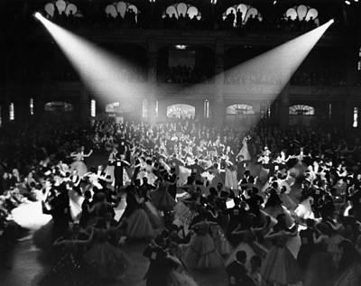 Photograph - Blackpool Dancers by Alex Dellow