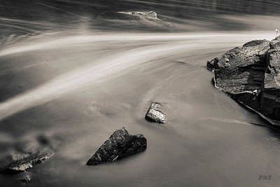 Photograph - Blackstone River II Albion Toned by David Gordon