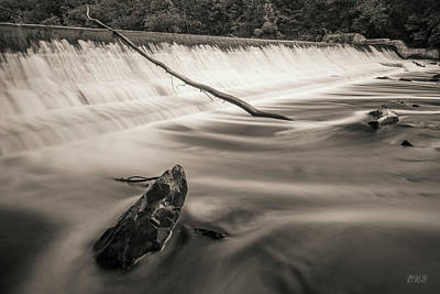 Photograph - Blackstone River IIi Albion Toned by David Gordon