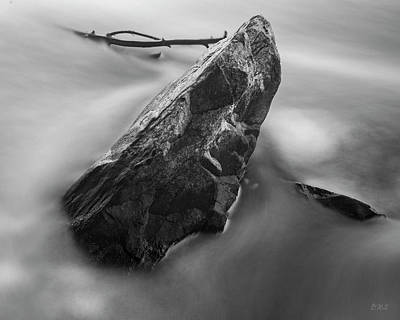 Photograph - Blackstone River V Albion Bw by David Gordon