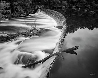 Photograph - Blackstone River Vi   Bw by David Gordon