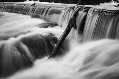 Photograph - Blackstone River Viii   Bw by David Gordon