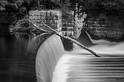 Photograph - Blackstone River Xii Bw by David Gordon