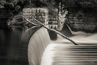Photograph - Blackstone River Xii Toned by David Gordon