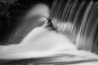 Photograph - Blackstone River Xix Bw by David Gordon