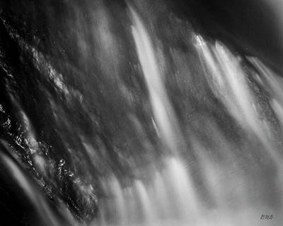 Photograph - Blackstone River Xvii  Bw by David Gordon