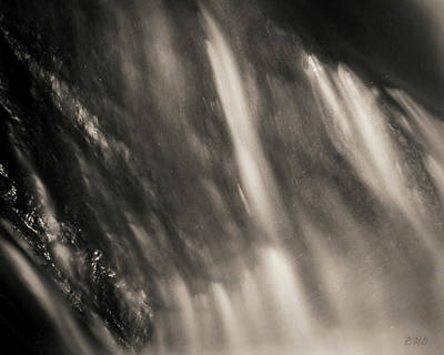 Photograph - Blackstone River Xvii  Toned by David Gordon