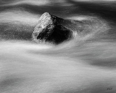 Photograph - Blackstone River Xx Bw by David Gordon
