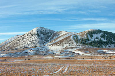Photograph - Blaine County Foothills by Todd Klassy