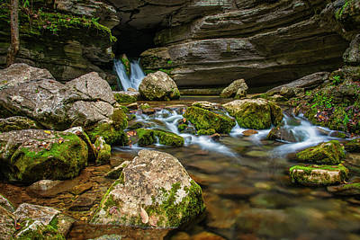 Photograph - Blanchard Springs Headwater by Andy Crawford