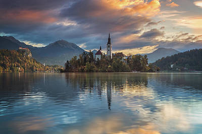 Photograph - Bled Lake by Elias Pentikis