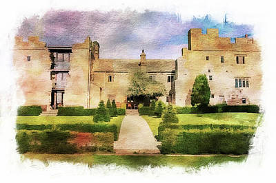 Digital Art - Blencowe Castle by Pete Hunt