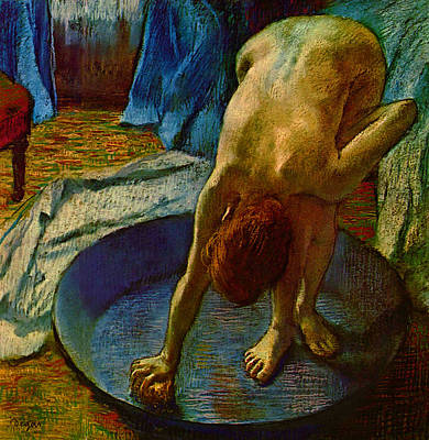 Digital Art - Blend 14 Degas by David Bridburg