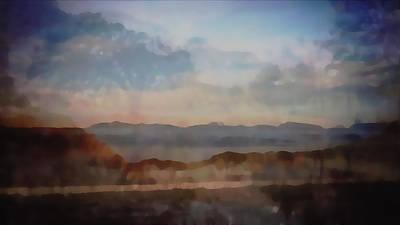 Digital Art - Blended Landscapes by Philip A Swiderski Jr
