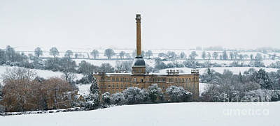 Photograph - Bliss Tweed Mill In The December Snow by Tim Gainey
