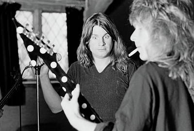 Uk Photograph - Blizzard Of Ozz Sessions by Fin Costello