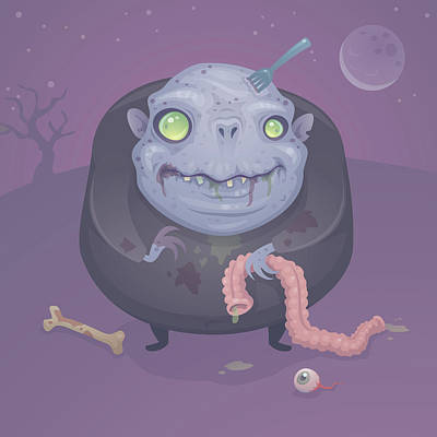 Royalty-Free and Rights-Managed Images - Blob Zombie by John Schwegel