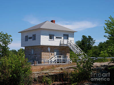 Photograph - Blockhouse At Kingston Mills On The Rideau Canal by Louise Heusinkveld