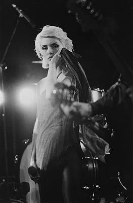 Photograph - Blondie by Hulton Archive