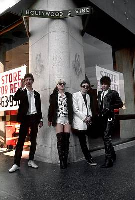 Photograph - Blondie In Hollywood by Michael Ochs Archives