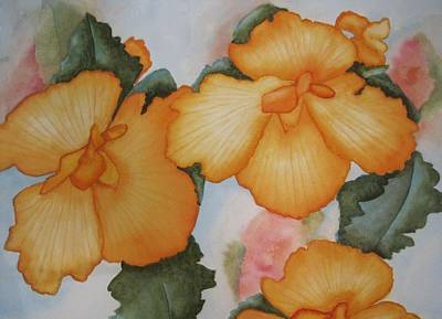 Painting - Blossoms in Summer by Peggy M McAloon