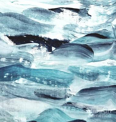 Painting - Blue #10 by Maria Langgle
