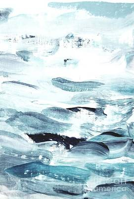Painting - Blue #11 by Maria Langgle