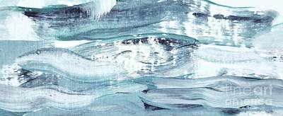 Painting - Blue #12 by Maria Langgle