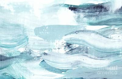 Painting - Blue #15 by Maria Langgle