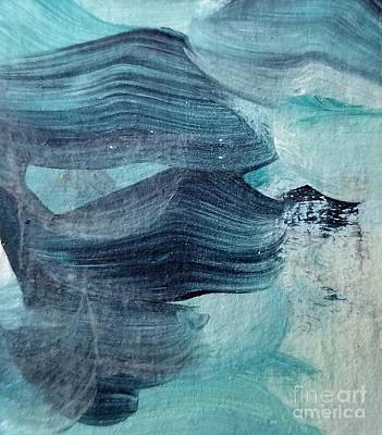 Painting - Blue #3 by Maria Langgle
