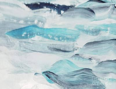 Painting - Blue #7 by Maria Langgle