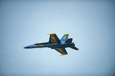 Photograph - Blue Angel Solo by Mark Duehmig
