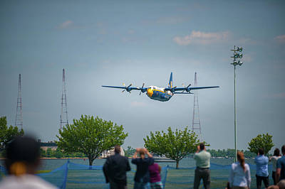 Photograph - Blue Angel's Fat Albert by Mark Duehmig