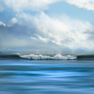Photograph - Blue by Debra and Dave Vanderlaan