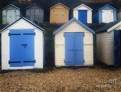 Sean Rights Managed Images - Blue Door Beach Houses Royalty-Free Image by Doc Braham