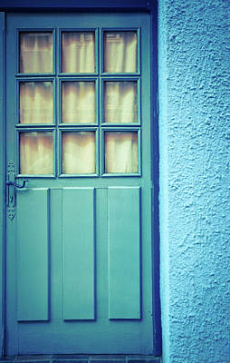Photograph - Blue Door by Marywilson Photography