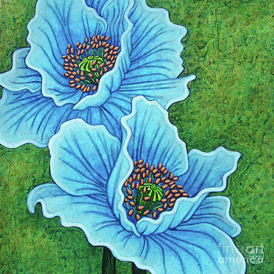 Painting - Blue Duo by Amy E Fraser