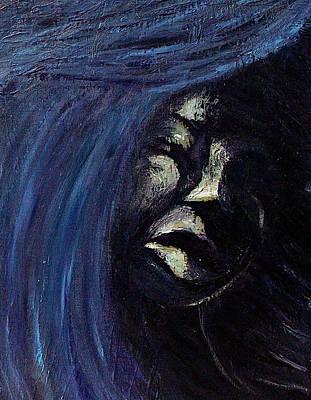 Spot Of Tea Royalty Free Images - Blue Feminine Mystery Royalty-Free Image by Rayce Rapoza