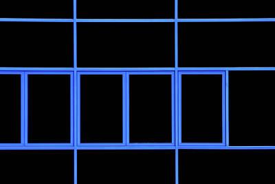 Photograph - Blue Frame by Stuart Allen