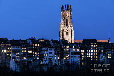 Photograph - Blue Fribourg by Didier Marti